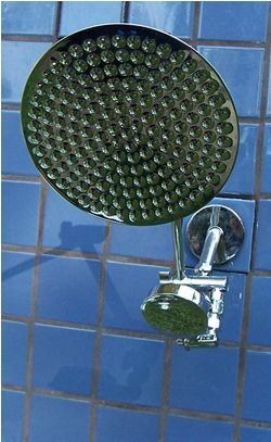 Double 8 Inch Rainshower and ADS - Product Image
