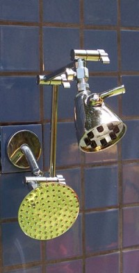 Double 8 Jet and 5 1/4 Inch Rainshower - Product Image