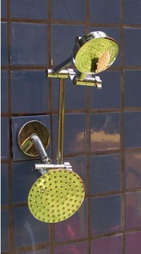 Double ADS and 5 1/4 Inch Rainshower - Product Image