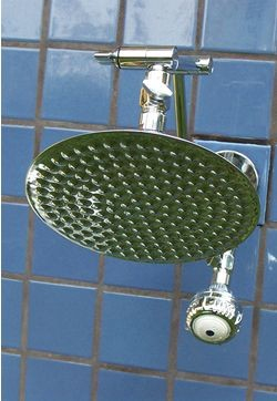 Double 8 Inch Rainshower and Super 3 - Product Image