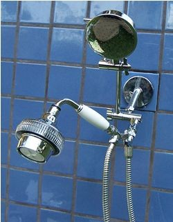Double ADS and 5 1/4 Inch Rainshower Handheld - Product Image