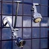 Double Shower Head with Super 3 and 8 Jet - Product Image