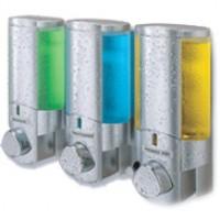 AVIVA Dispenser III with Translucent Bottles