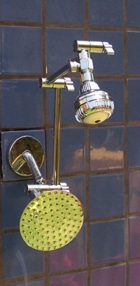 "Double Super 3 and 5 1/4"" Rainshower - Product Image"