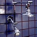 "Double Shower Head with 5 1/4"" Rainshower and Super 3 - Product Image"