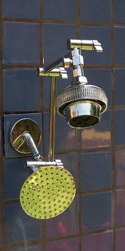 "Double Super 5 and 5 1/4"" Rainshower - Product Image"
