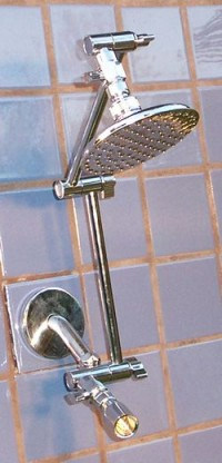 Double 5 1/4 Inch Rainshower and Varipulse - Product Image