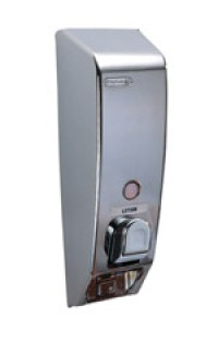 Chrome and Gold Dispenser - Product Image