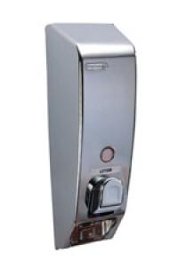 Chrome and Gold Dispenser