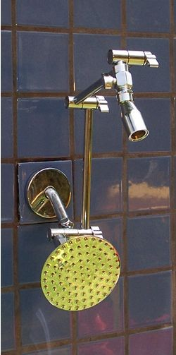 """Double Varipulse and 5 1/4"""" Rainshower - Product Image"""