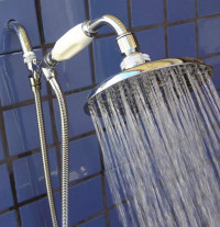 Handheld Shower with 5 1/4 Inch Rainshower - Product Image