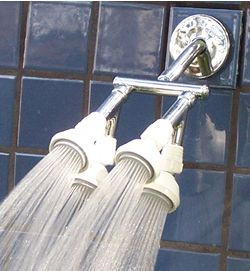 Quad Shower Heads