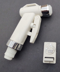 Shower Sprayer Small Head (White Only)