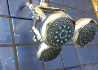 Triple Blue Shower - Product Image