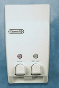 Two Button Classic  Dispenser - Product Image